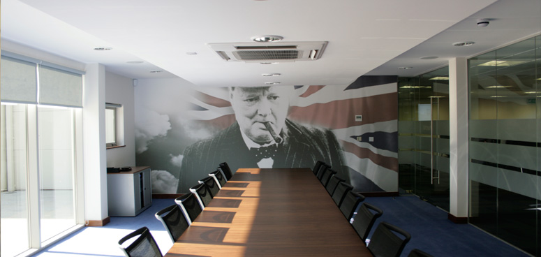 Our new main boardroom vinyl – do you like?