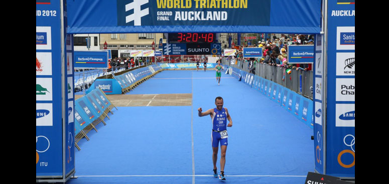 74th for Kevin at the ITU World Championships