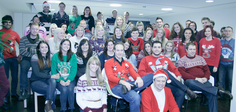 One of our favourite fundraisers #xmasjumperday
