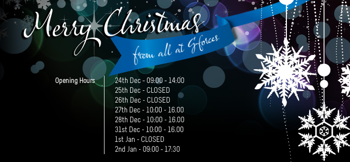 Christmas Opening Hours | GForces Blog