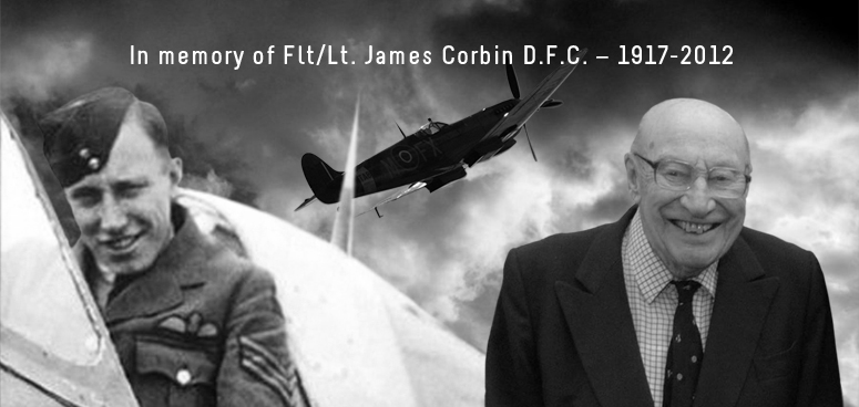 Flight Lieutenant James Corbin D.F.C. – 1917 – 2012