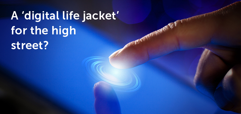 A 'digital life jacket' for the high street?