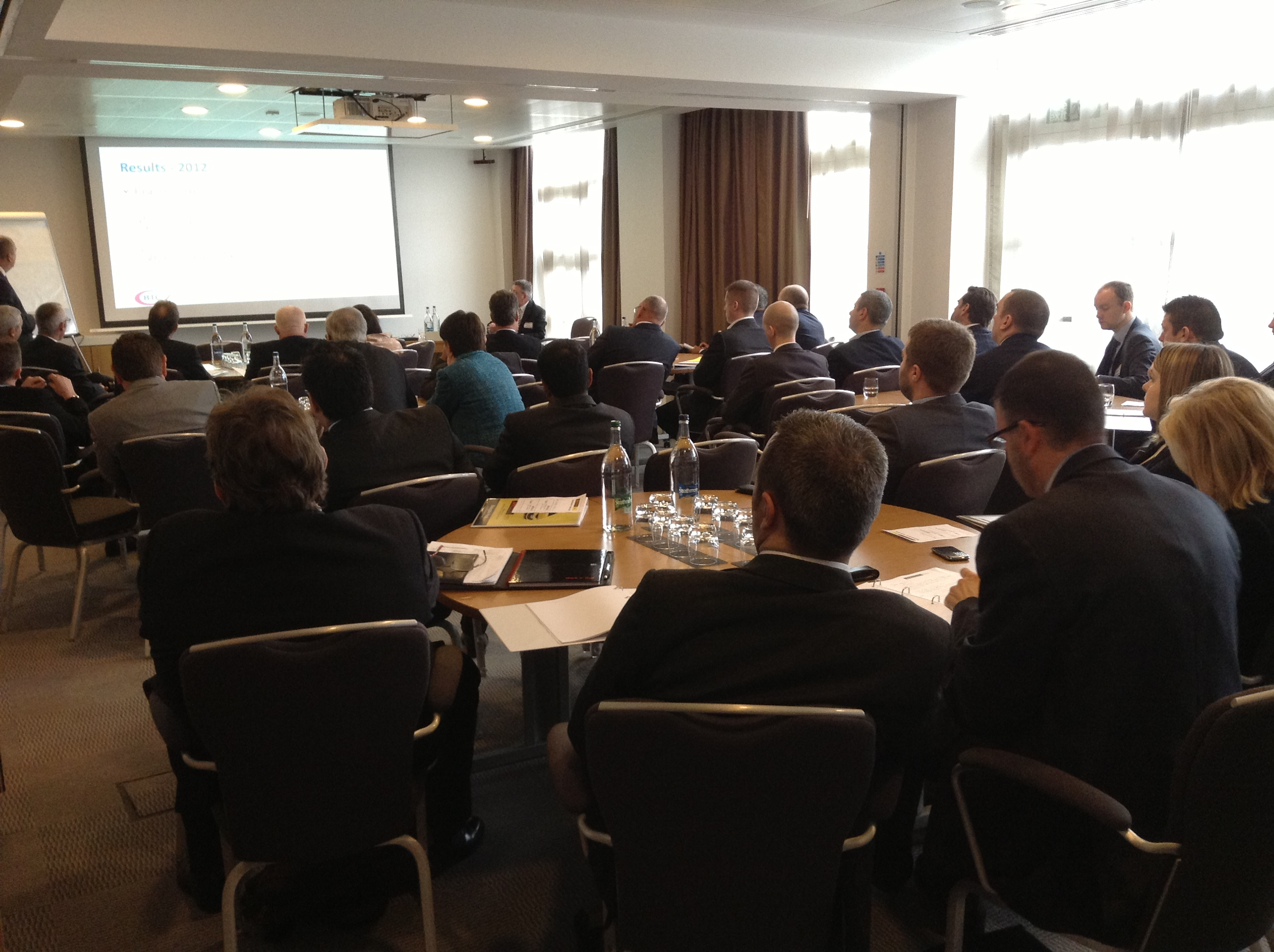 Building Trust - EVHC & video ' walka arounds' workshop - full house