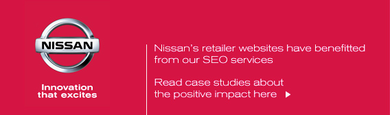 SEO Success for Nissan retailer websites