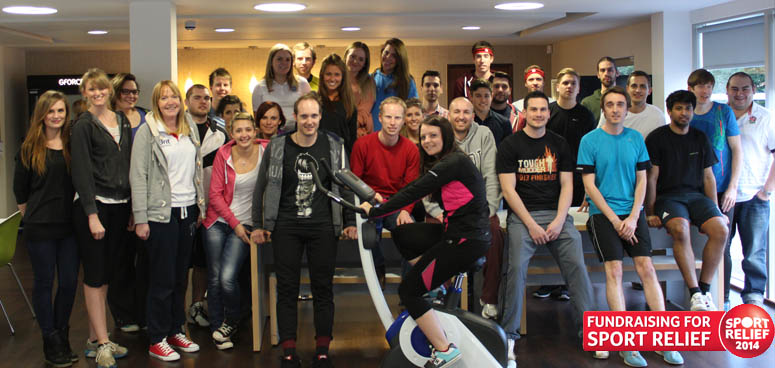 Sport Relief 2014: GForces rides again