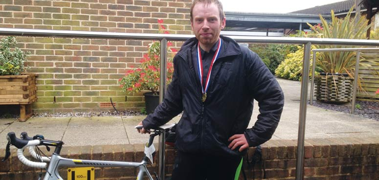 Cycling in aid of the Heart of Kent Hospice – by Ben White