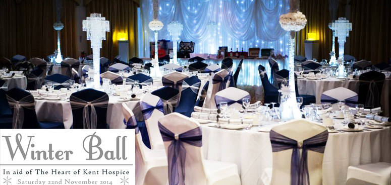 Winter Ball for The Heart of Kent Hospice