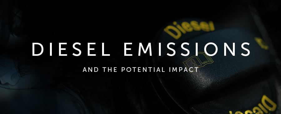 Diesel emissions and the potential impact
