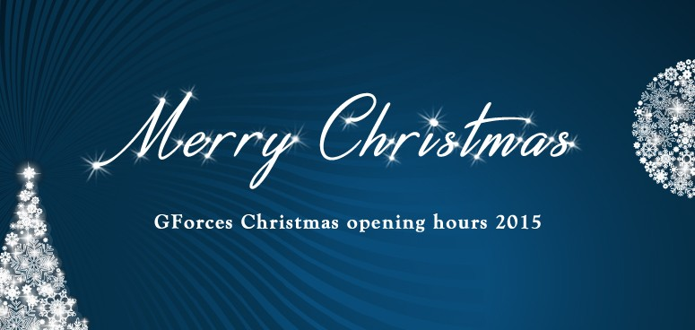 27-11-15 - GForces - Blog Image - Christmas Opening Times