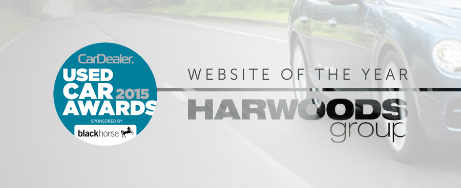 "Harwoods wins ""Used Car Website of the Year"" at Car Dealer Awards"