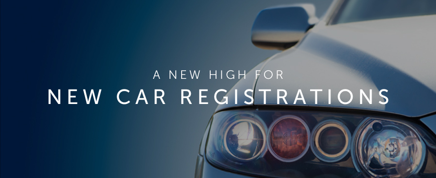 2015 – A new high for new car registrations