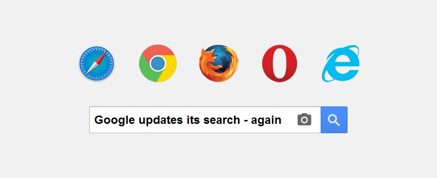 Google updates its search – again