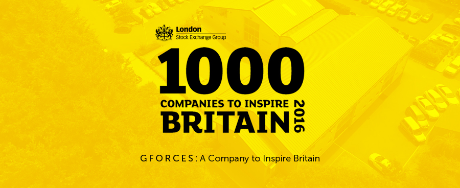 GForces: A company to inspire Britain