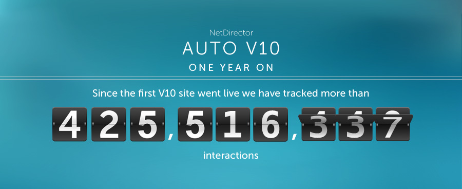 NetDirector Auto V10 – one year on