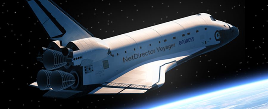 GForces launches… into space, with NetDirector Voyager