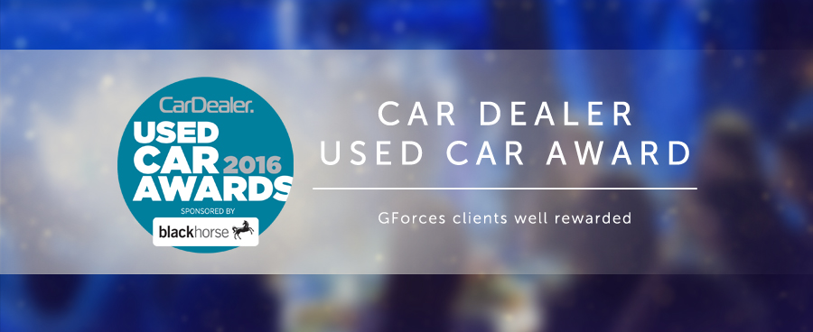 GForces clients well rewarded at Used Car Awards.