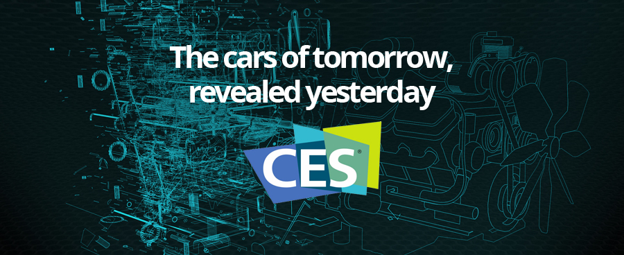CES 17. The cars of tomorrow, revealed yesterday