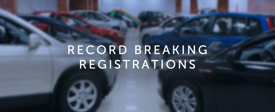 Record Breaking Registrations