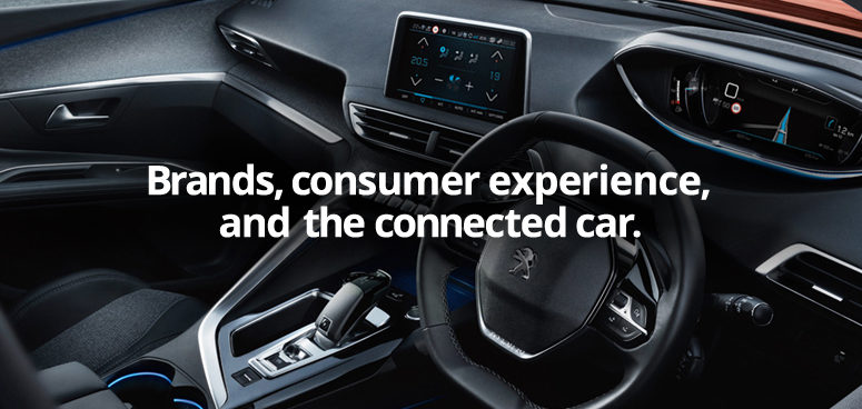 Consumer experience in a modern car interior