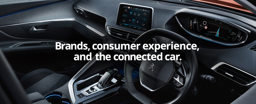 Brands, consumer experience, and the connected car