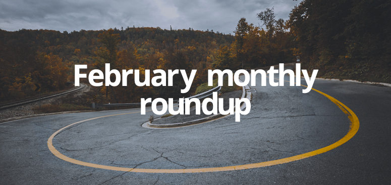 Our February roundup of website launches at GForces