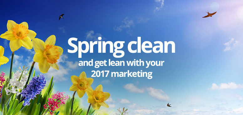 Spring daffodils and blue skies - 2017 marketing ideas