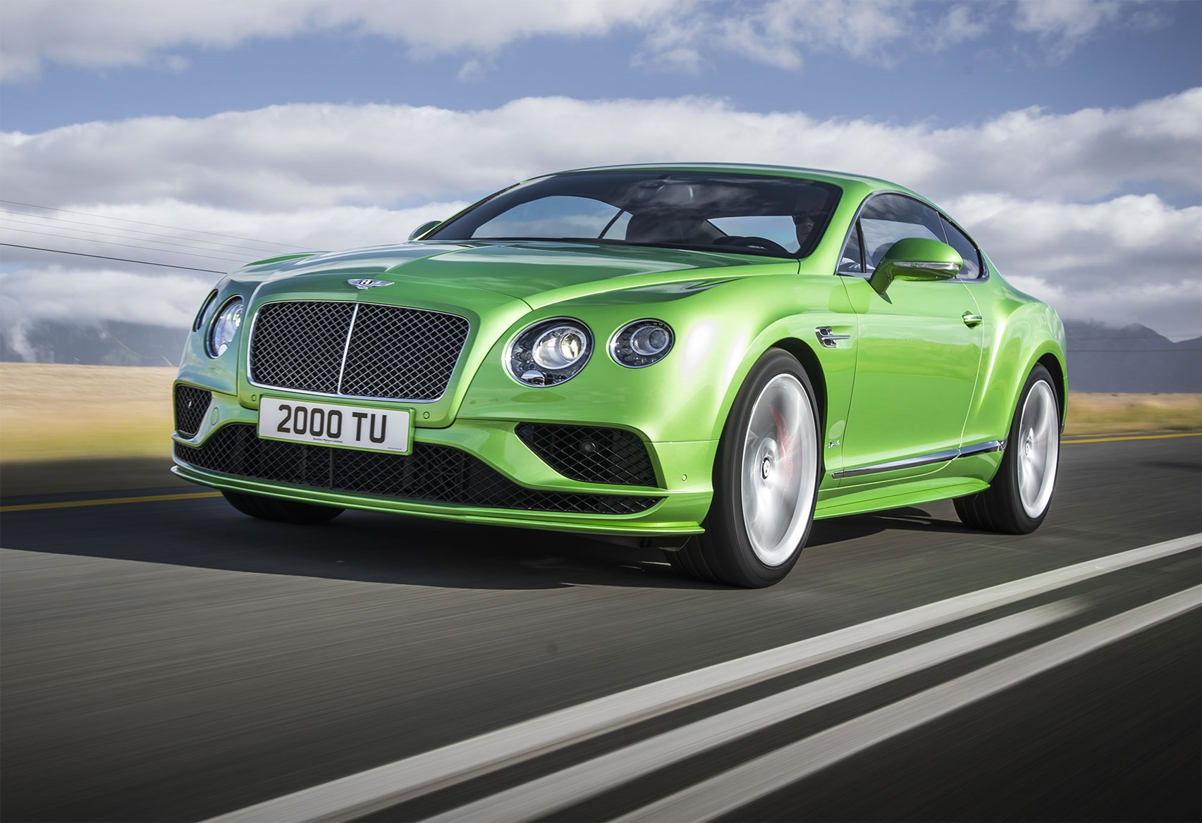 Bentley Continental Supersports in Apple Green