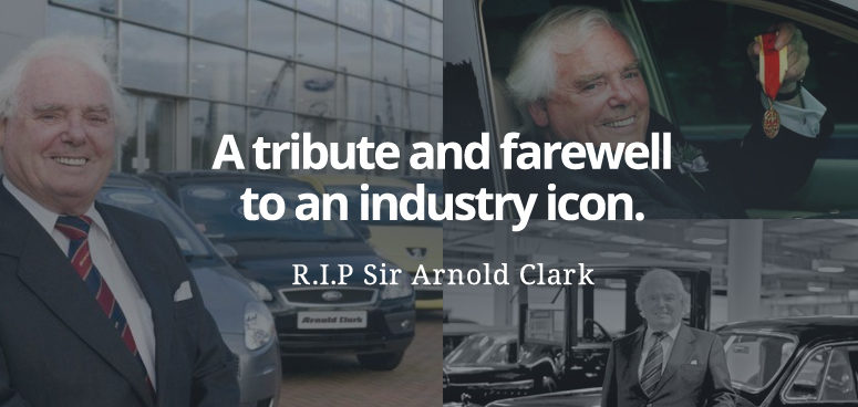 Pictorial tributes to Arnold Clark, who passed away aged 89 on Monday 10th April 2017.