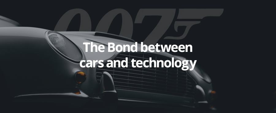 The Bond between cars and technology