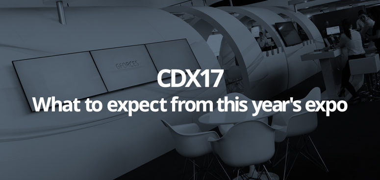 CDX17, the automotive retail industry expo - May 23rd 2017, Silverstone.