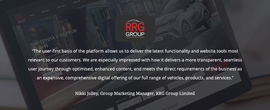 April testimonial for GForces from RRG.
