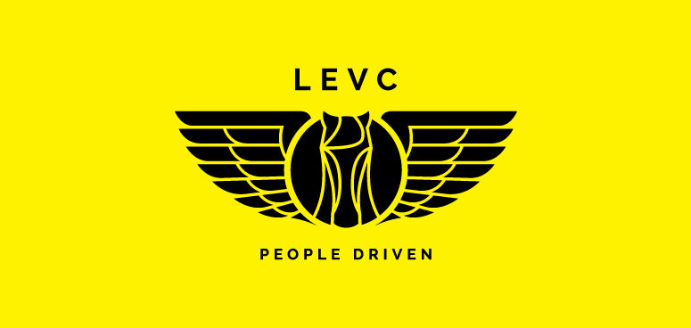 LEVC - the new logo and colour palette.