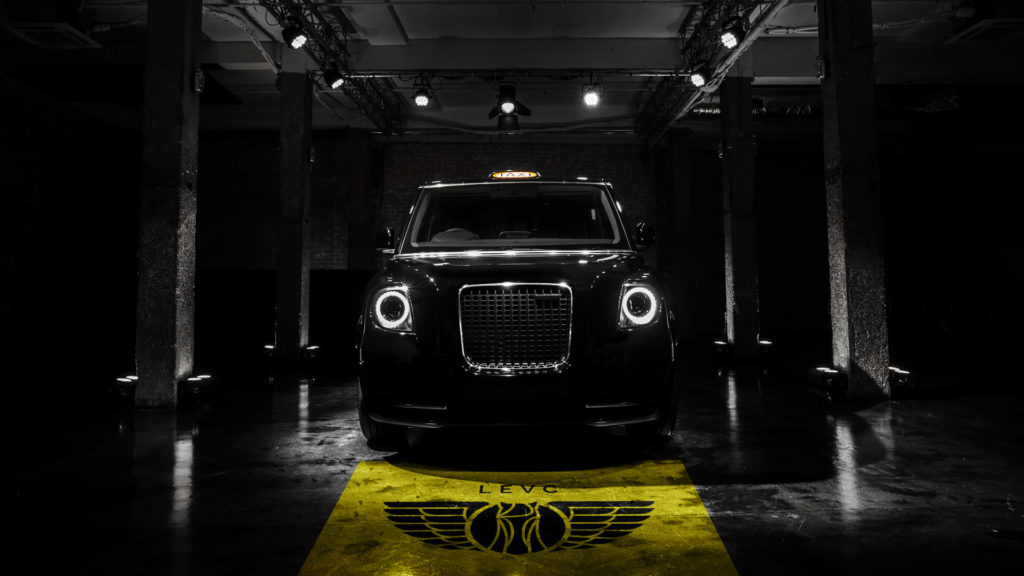 The new LEVC TX - the future black cab.