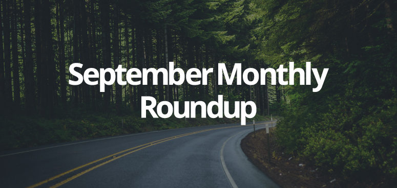 September Monthly Roundup Blog 2017