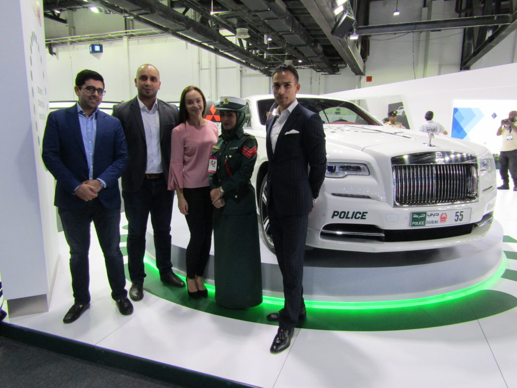 Rolls Royce Wraith joins the Dubai Police force.