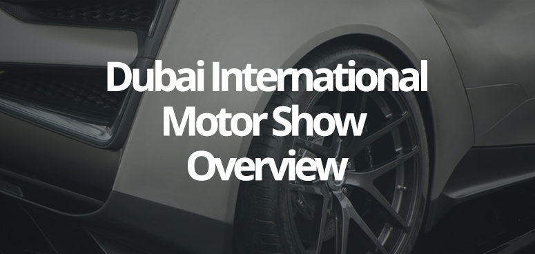 An overview of the Dubai International Motor Show 2017.