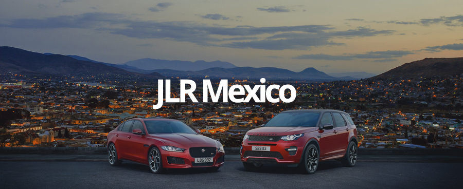 November saw 16 retailer websites in Mexico for JLR, delivered by GForces.