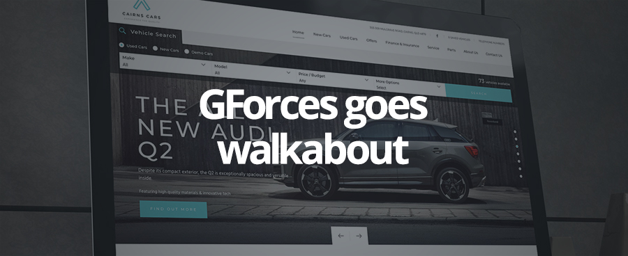 November saw GForces enter the Australian automotive retail market.