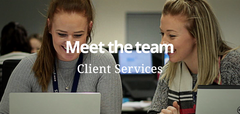 Client Services are at the heart of the GForces operation.