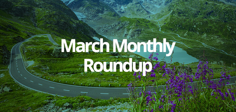 March - the monthly roundup of site launches from GForces.