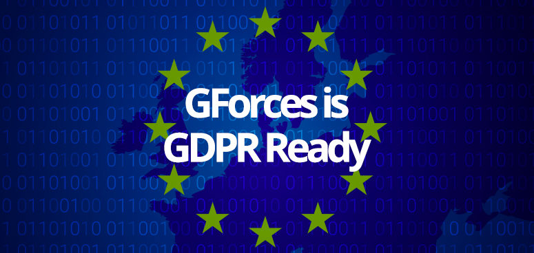GForces is GDPR Ready