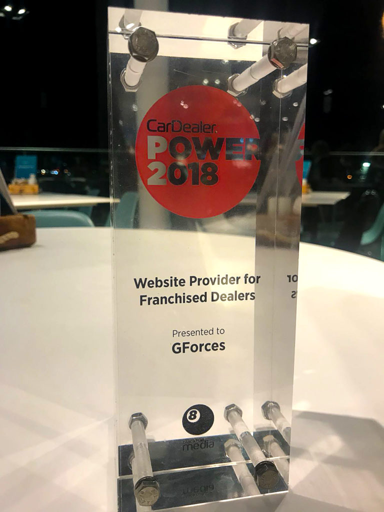 Car Dealer Power Awards - Award