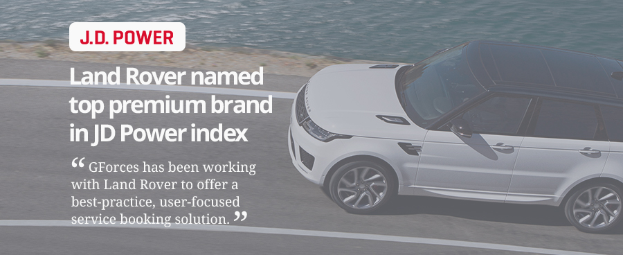 J.D. Power index reveal Land Rover in top slot