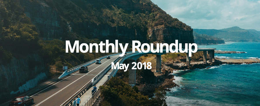 May monthly roundup 2018