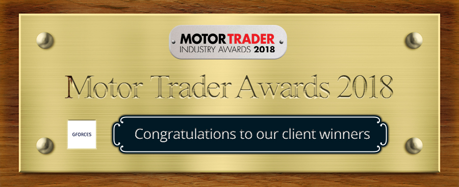 2018 Motor Trader Awards - Our Client Winners