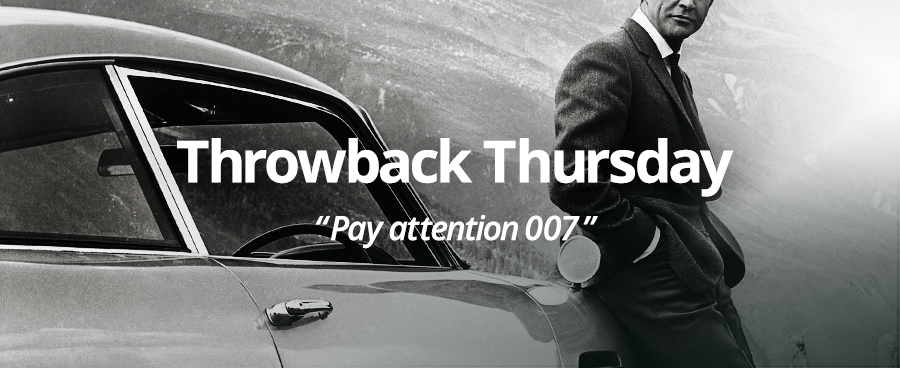 Throwback Thursday: 007