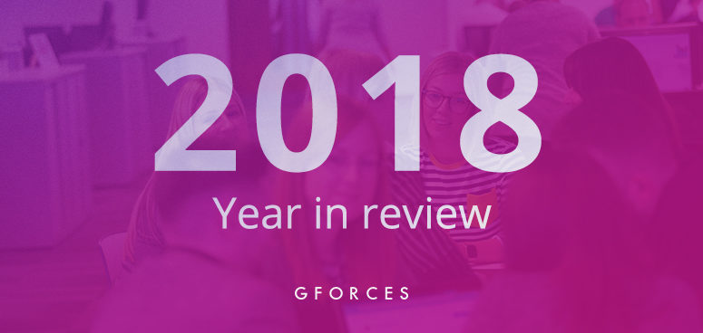 2018 - our GForces year in review.
