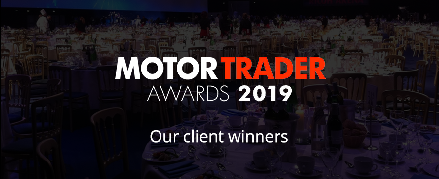 Motor Trader Awards 2019 - our client winners.