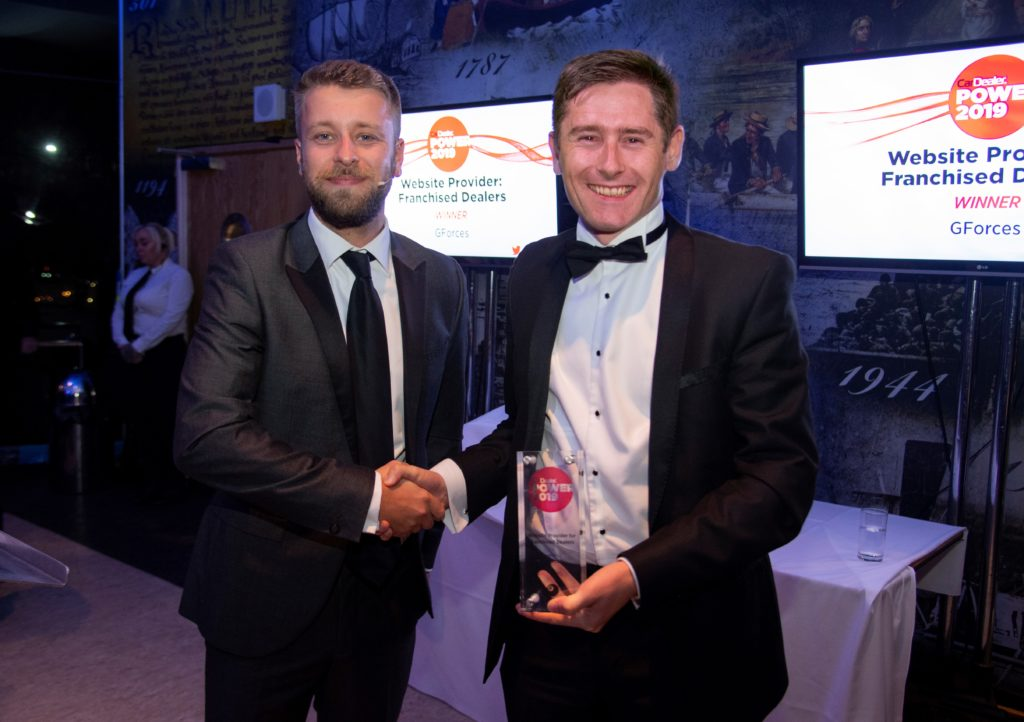 Car Dealer Power Awards 2019 - Website Provider of the Year