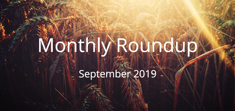 September Monthly Roundup